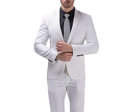 Poshawn - Chaqueta de traje - para hombre blanco blanco 97 ...