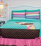 Best Seller JIRAFA Bedspread Set and Window Panels (FULL/QUEEN) by Kitty4u