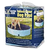 Cool Pup Splash About Dog Pools-Fun, Convenient, Durable, and Portable Pools to That Make It Easy for Dogs to Cool Off on Hot Summer Days