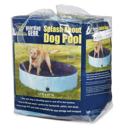 Cool Pup Splash About Dog Pool in Blue, Portable by Cool Pup