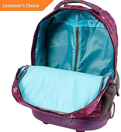 Model LGGG Sandover Sunset Rolling Backpack 10 Colors 1606