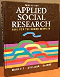 Applied Social Research, Monette, Duane R., 0030925452