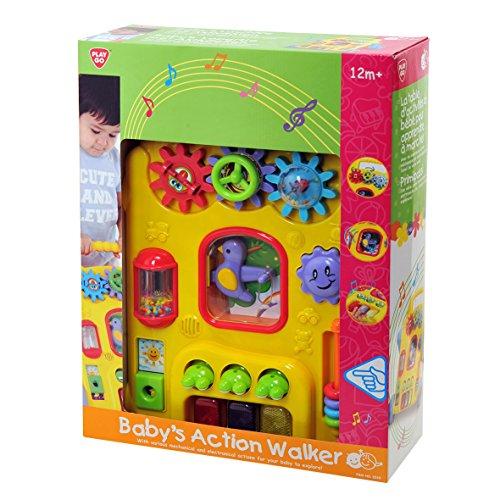 Playgo 2240 - Baby's 2 in 1 Laufhilfe mit Aktivitäten, Batteriebetrieben