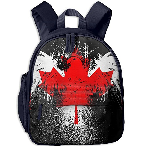 American Eagle Canadian Flag Child Cool Backpack For Summer Camp