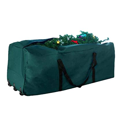 Amazon.com  9ft Christmas Tree Storage Rolling Box Artificial Plant ... 83f237fdaa900