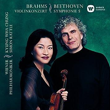 ラトル&チョン・キョンファ ベートーヴェン:「運命」&ブラームス:ヴァイオリン協奏曲