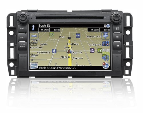 """UPC 802258347049, """"Factory Fit"""" In-Dash Navigation & Multimedia System with 7 Inch High Res TFT/LCD Touch Screen Display for Buick, Chevrolet, GMC, Saturn & Suzuki"""