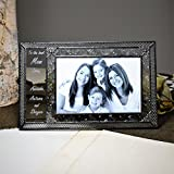 J Devlin Pic 393-46H EP529 Personalized Gift for Mom or Grandma 4x6 Glass Picture Frame
