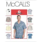 McCall's Patterns M2149 Men's Shirts, Size L-XL