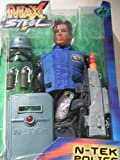 "MAX STEEL - 12"" N-TEK POLICE RESCUE ACTION FIGURE - MATTEL (2002)"
