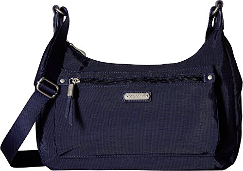 Bagg and Navy Baggallini About Wristlet with RFID Out Phone 5Uw7wt