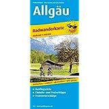 Allgäu: Radwanderkarte mit Ausflugszielen, Einkehr- & Freizeittipps, wetterfest, reissfest, abwischbar, GPS-genau. 1:100000 (Radkarte / RK)