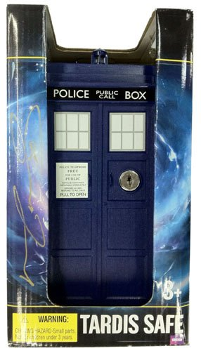 Matt Smith Autographed/Signed Doctor Who In-Package Mini Tardis - Autographed Packages