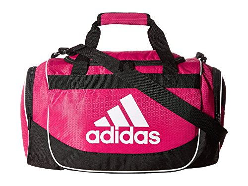 adidas Unisex Defense Small Duffel Bold Pink One Size by adidas