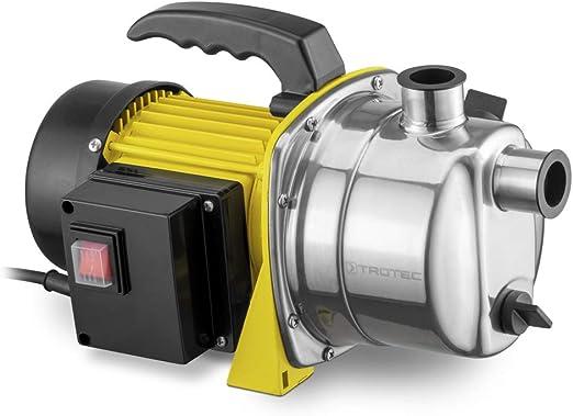 TROTEC Bomba de jardín TGP 1000 ES Bomba de Agua aspersor para césped 1000 W 3300 l/h Capacidad: Amazon.es: Jardín