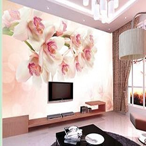 Price comparison product image Sproud 3D Wall Murals Wallpaper Flower Seamless Backdrop Mural Painting Large Living Room Sofa Backdrop Decorative Wallpaper 300cmX210cm