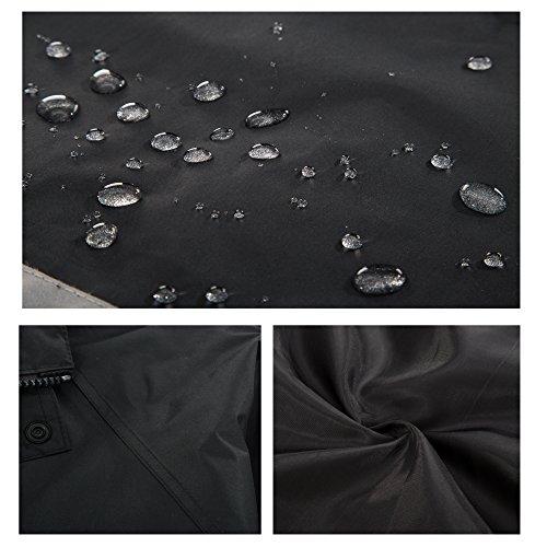 Maiyu Motorcycle Rain Suit Waterproof Rain Jacket and Pants Set 2 Piece Rain Gear For Adult by Maiyu (Image #4)
