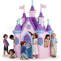 ECR4Kids Jumbo Princess Palace Playhouse,Pink
