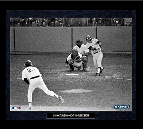 Bucky Dent Framed - Bucky Dent 1978 Home Run Framed Golden Moments 16x20 Photo