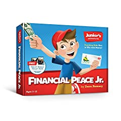 Financial Peace Junior is designed to help you teach your kids about money. It's packed with tools, resources and step-by-step instructions for parents. What can be intimidating is made ultra-easy. There are ideas for activities and age-appro...