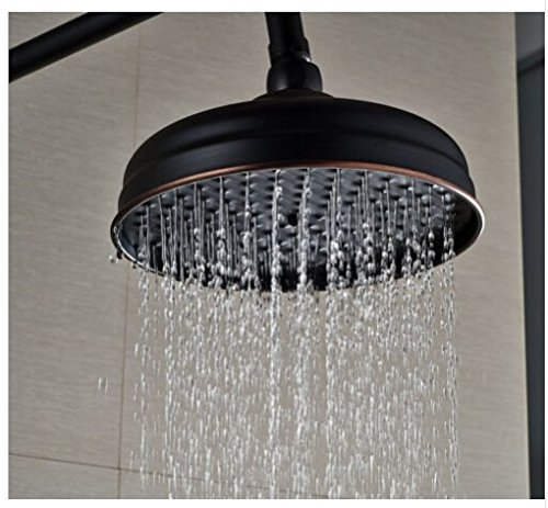 Gowe Oil-rubbed Bronze Bath Rainfall Shower Set 8 Top Showerhead with Hand Spray 2
