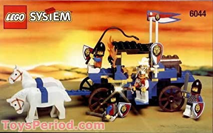 Lego Royal Knights King's Carriage 6044