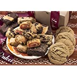 Dulcet's Gift Basket's Assorted Kraft Box Assortment Filled with Cookies, Brownies and Ruggelah. by Dulcet Gift Baskets