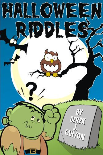 Halloween Riddles - Rhyming Riddles #4