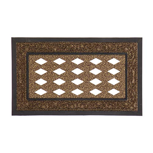 (Evergreen Flag Modern Stunning Functional Brown Scroll Sassafras Switch Mat Surround Base Tray - 30