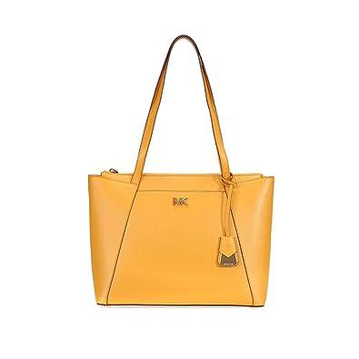 c7644b3d Amazon.com: Michael Kors Women's Medium Maddie Leather Top-Handle ...