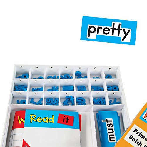 Really Good Stuff Make-A-Word Center: Dolch Primer Words
