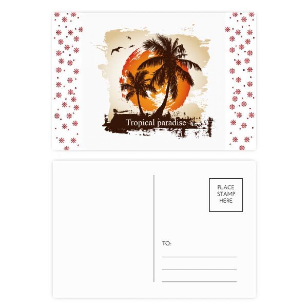 Amazon com : Beach Coconut Tree Pattern Illustration