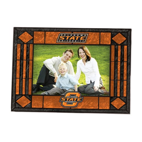 Oklahoma State Art Glass Horizontal Frame (Art Glass Frame State)