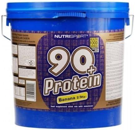 Nutrisport 90 + proteína - fresa 2.5kg: Amazon.es: Deportes y ...