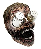 zombie salt and pepper set - Ebros Walking Undead Gory Eyeless Zombie Head Salt And Pepper Shakers Holder Figurine Set With Glass Shakers 5.5