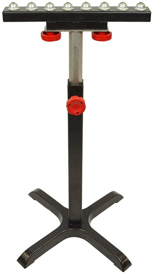Machinery T2054 Heavy-Duty 8 Bearing Roller Stand: Sports & Outdoors