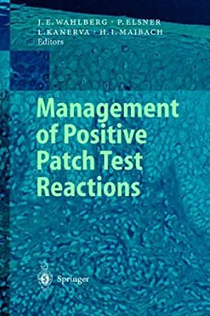 Patch Test products and Reference Manual