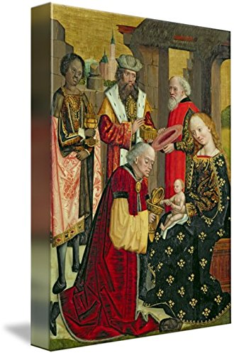 Imagekind Wall Art Print Entitled The Adoration of The Magi, from The Dome Altar, 14 by The Fine Art Masters | 7 x 10