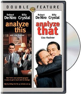 Analyze This Amazon De Robert De Niro Billy Crystal Lisa