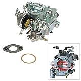 ALAVENTE 1 BARREL Carburetor Carb for Chevrolet Chevy 1970-1980 350/5.7L / 1970-1975 400/6.6L Engine (automatic choke)