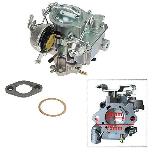 Photo ALAVENTE 1 BARREL Carburetor Carb for GMC Chevrolet Chevy 292 L6 Engines 4.1L 250 AND 4.8L 292 2007-2016 Car Carburetor Garage Carburetor (Automatic Choke)