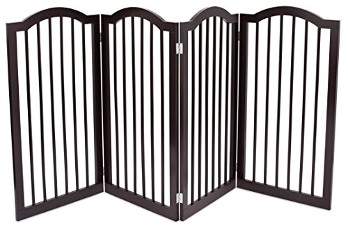 Internet S Best Pet Gate With Arched Top 4 Panel 36