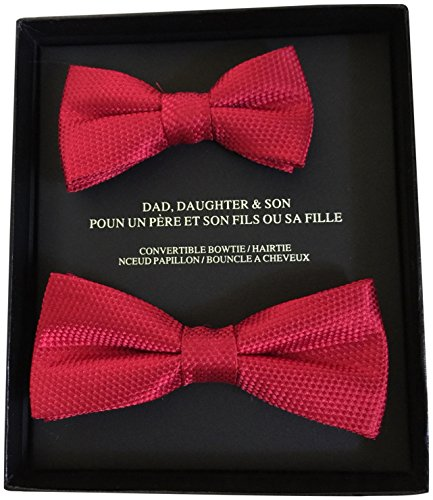 saks-fifth-avenue-100-silk-father-and-son-formal-bow-tie-or-daughter-hair-bow-gift-set-red