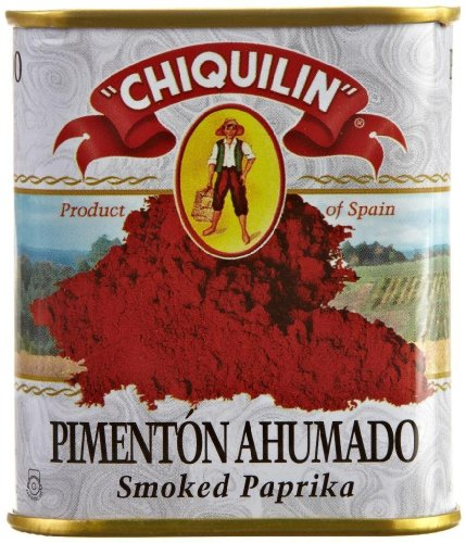 Smoked Paprika Chiquilin Tin 2.64 Oz (2 Pack) Pimenton Ahumado Spain Rich Smokey Flavor