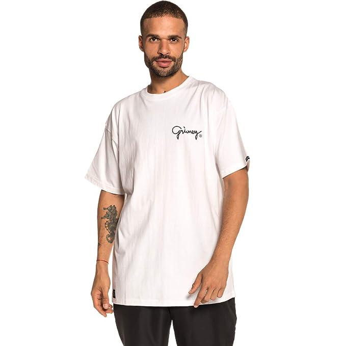 Grimey Camiseta Fallen tee FW18 White-S