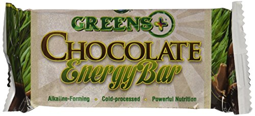 Greens Plus Energy Bar Chocolate, 2.08 Oz (12 Pieces)