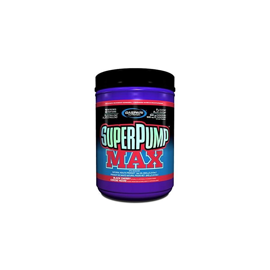 Gaspari Nutrition Super Pump MAX Pre Workout 40 Servings