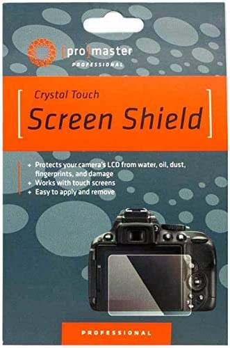Promaster Crystal Touch Screen Shield for Canon 7D Mark II