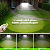 2 Pack Solar Lights Outdoor, Cord LED Solar Shed