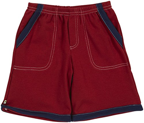 Kiwi Board Shorts (Toddler/Kid) - Red-2 Years